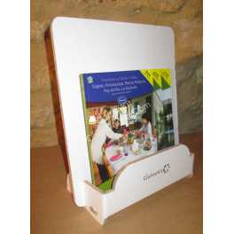Présentoir en carton de comptoir 1 bac pour format flyers