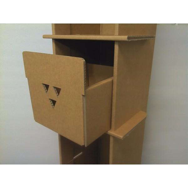 etagere carton modulable. Black Bedroom Furniture Sets. Home Design Ideas