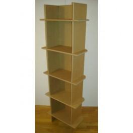 Etagere en carton 1 colonne