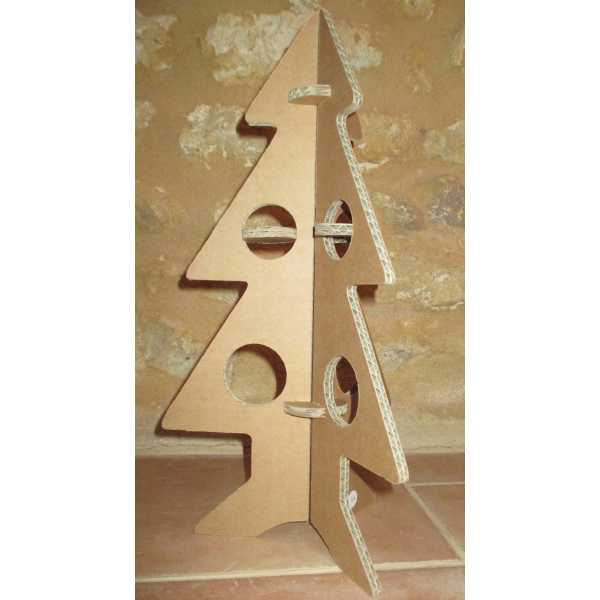 sapin de noel en carton mobilier en carton. Black Bedroom Furniture Sets. Home Design Ideas