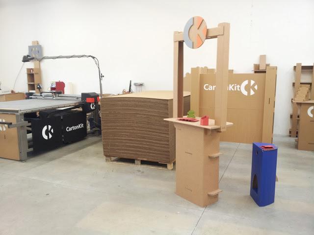 Atelier Meuble en carton only-carton